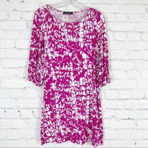 HourGlass Lilly Pink and White Tunic